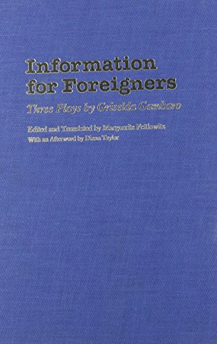 9780810110083: Information for Foreigners: Three Plays