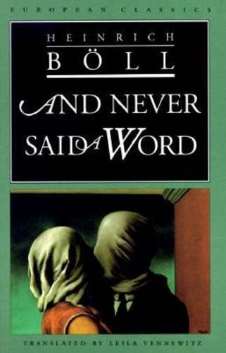 9780810111479: And Never Said a Word (European Classics)