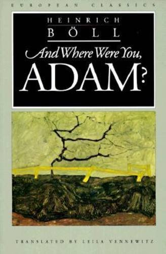 9780810111646: And Where Were You, Adam (European Classics)
