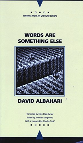 9780810113060: Words Are Something Else (Writings From An Unbound Europe)