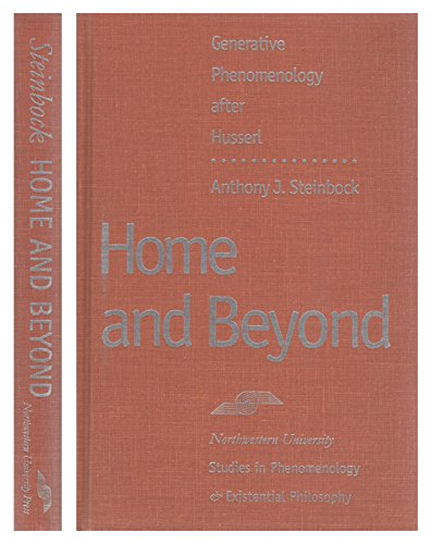 9780810113190: Home and Beyond: Generative Phenomenology After Husserl