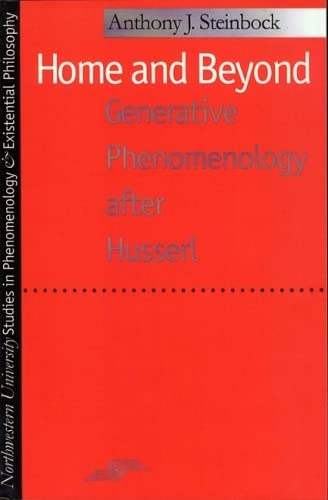 9780810113206: Home and Beyond: Generative Phenomenology After Husserl