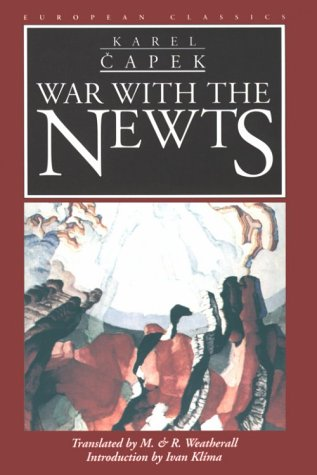9780810114685: War With The Newts (European Classics)