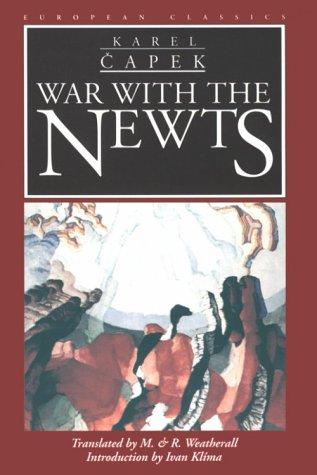 9780810114685: War with the Newts (European Classics)