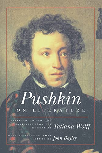 9780810116153: Pushkin on Literature (Studies in Russian Literature and Theory)