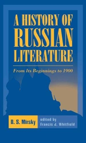 9780810116795: A History of Russian Literature: From Its Beginnings to 1900