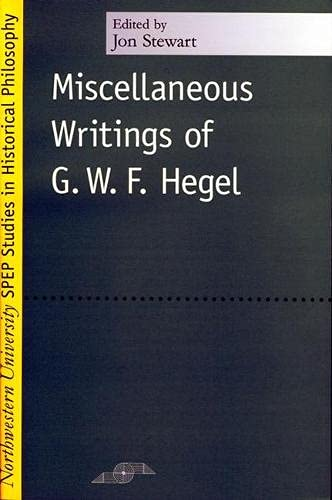 9780810117518: Miscellaneous Writings (Studies in Phenomenology and Existential Philosophy)