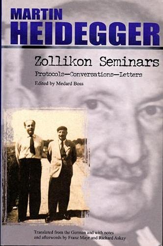 9780810118331: Zollikon Seminars: Protocols-Conversations-Letters (SPEP Studies in Historical Philosophy)