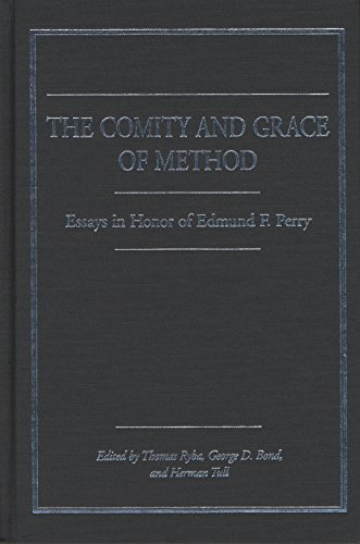 9780810118911: The Comity and Grace of Method : Essays in Honor of Edmund Perry