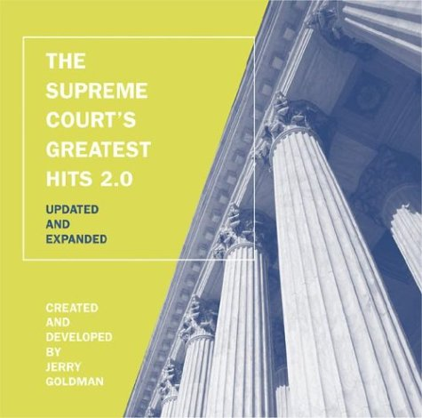 Supreme Court s Greatest Hits CD-Rom