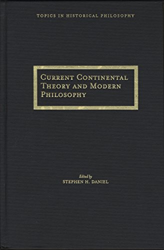 Current Continental Thought and Modern Philosophy (Hardback)