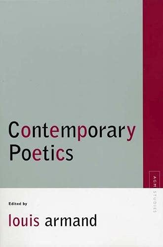 9780810123595: Contemporary Poetics (Avant-Garde & Modernism Studies)