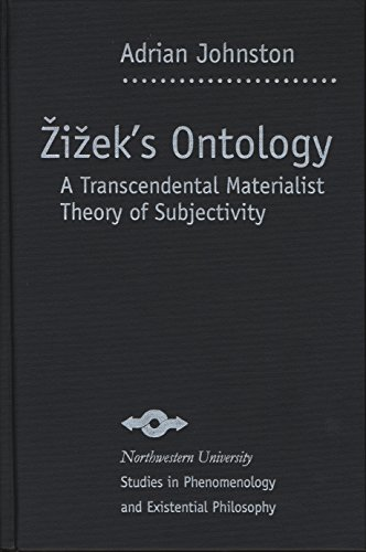 9780810124554: Zizek's Ontology: A Transcendental Materialist Theory of Subjectivity (Studies in Phenomenology and Existential Philosophy)