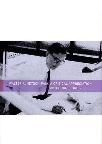 9780810125414: Walter Netsch: A Critical Appreciation and Sourcebook