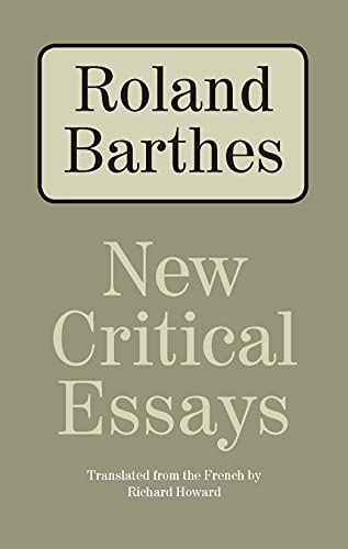 death author roland barthes essay Essays with post-modern perspectives the death of the author roland barthes style and the representation of historical time george kubler  (1964), by william burroughs, read by the author side b: now the shadow of the southwest column an excerpt from jealousy (1957), by alain robbe-grillet, read by the author translation of side b.