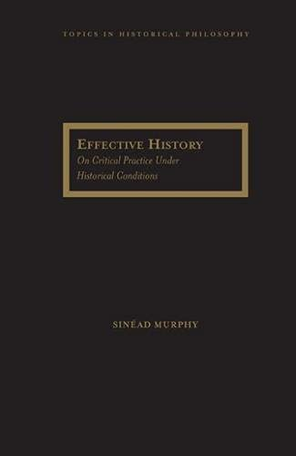 Effective History: On Critical Practice Under Historical Conditions (Topics in Historical ...