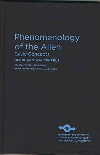 9780810127562: Phenomenology of the Alien: Basic Concepts