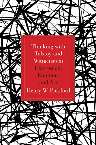 9780810131729: Thinking with Tolstoy and Wittgenstein: Expression, Emotion, and Art