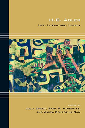 9780810132351: H. G. Adler: Life, Literature, Legacy (Cultural Expressions)