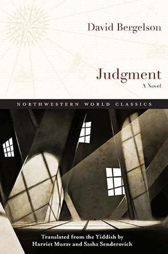 Judgment: A Novel: David Bergelson