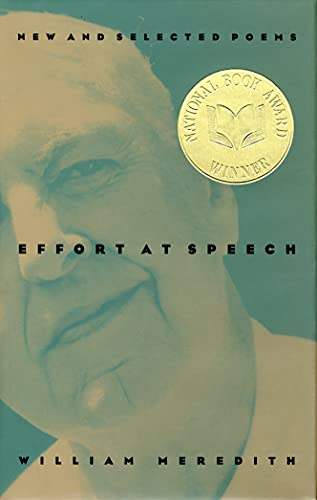 9780810150713: Effort at Speech: New and Selected Poems