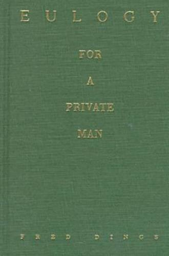 9780810150935: Eulogy for a Private Man