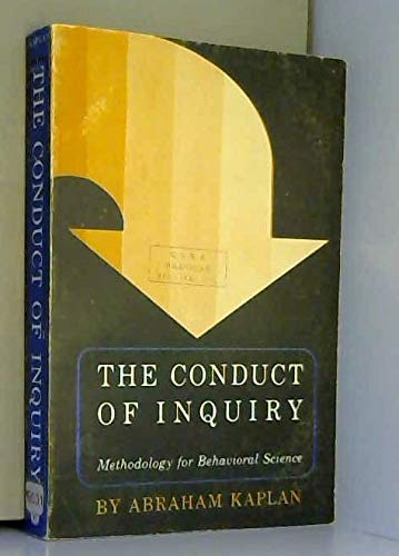 9780810201446: Conduct of Inquiry