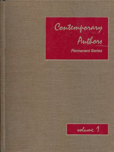 Contemporary Authors--Permanent Series. A bio-bibliographical guide to current authors and their ...