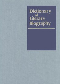 Dictionary of Literary Biography: American Novelists, 1910-45 v. 9 (Hardback)