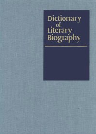 Dictionary of Literary Biography: American Poets, 1880-1945 - First Series v. 45 (Hardback)