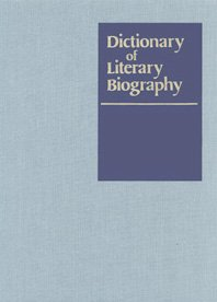 Elizabethan Dramatists; Dictionary of Literary Biography, Volume Sixty-Two; DLB, Vol. 62: Bowers, ...