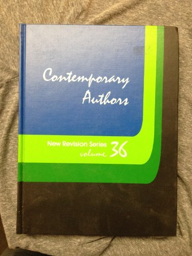 9780810319905: Contemporary Authors New Revision, Vol. 36