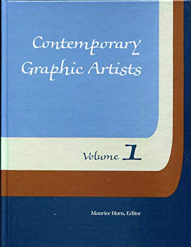 Contemporary Graphic Artists (Volumes 1 & 3): Horn M (Ed)