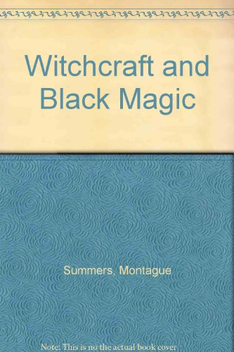 9780810339514: Witchcraft and Black Magic