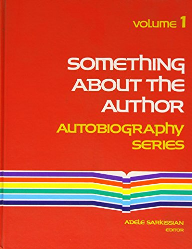 Something About The Author: Autobiography Series(Vol. 1)