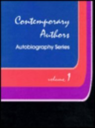 9780810345003: Contemporary Authors, Autobiography Series, Volume 1