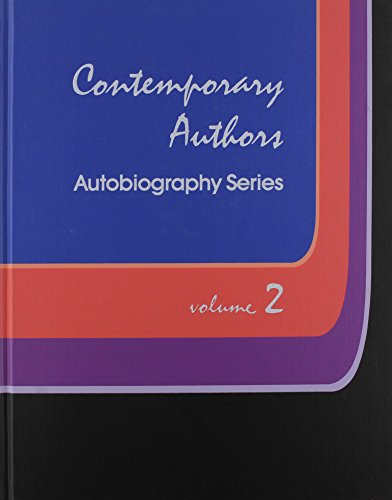 CONTEMPORARY AUTHORS, Autobiography Series, Volume 2.