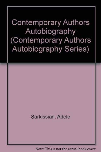 CONTEMPORARY AUTHORS, Autobiography Series, Volume 4.