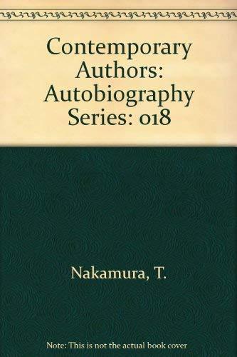9780810345157: Contemporary Authors: Autobiography Series, Vol. 18