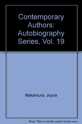 9780810345164: Contemporary Authors: Autobiography Series, Vol. 19