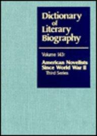 9780810355576: American Novelists since World War II, Third Series (Dictionary of Literary Biography)