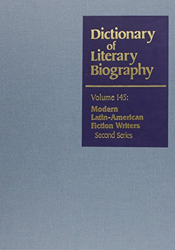 9780810355590: Modern Latin American Fiction Writers, Second Series (Dictionary of Literary Biography)