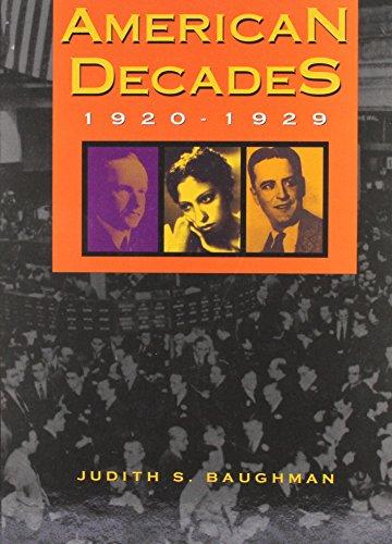 9780810357242: American Decades: 1920-1929: 1920-29