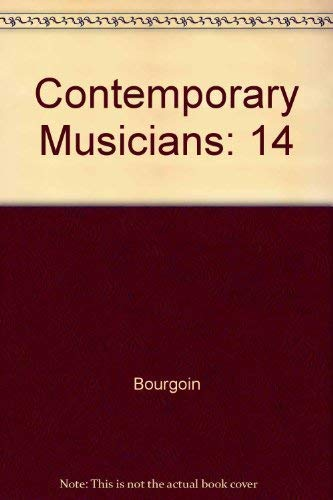 9780810357389: Contemporary Musicians: Profiles of the People in Music