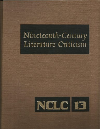 9780810358133: Nineteenth-Century Literature Criticism, Vol. 13