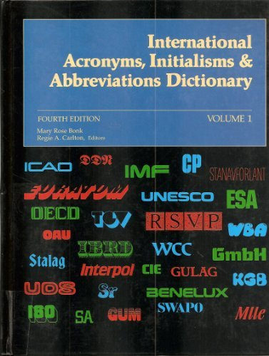 International Acronyms, Initialisms & Abbreviations Dictionary: Bonk