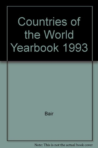 Countries of the World Yearbook, 1993