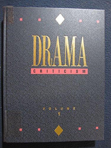 9780810379114: Drama Criticism
