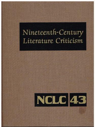 Nineteenth-Century Literature Criticism (Volume 43): Joann Cerrito