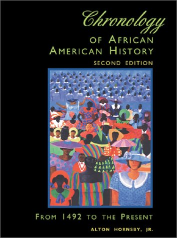 9780810385733: Chronology of African American History 2
